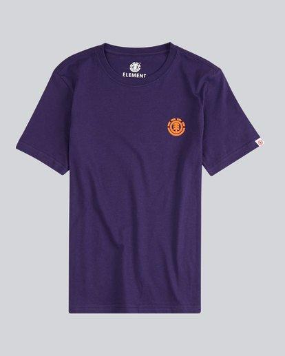 0 Script Back Ss Boy S - Tee Shirt for Men  H2SSA4ELMU Element