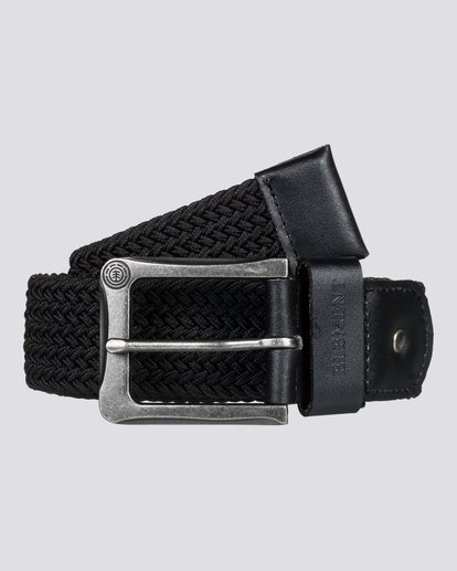 1 Caliban - Cintura da Uomo Black H5BLA1ELP8 Element