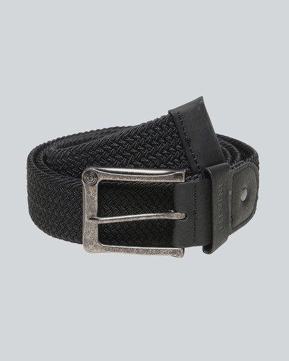 0 Caliban - Cintura da Uomo Black H5BLA1ELP8 Element