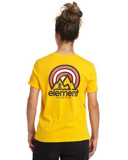 1 Branded T-Shirt Yellow J4031EBR Element