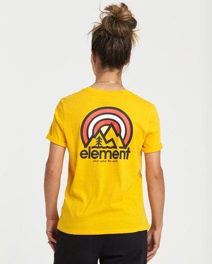 0 Branded T-Shirt Yellow J4031EBR Element