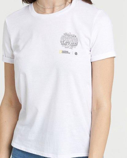 0 National Geographic Crew T-Shirt White J4031ENA Element