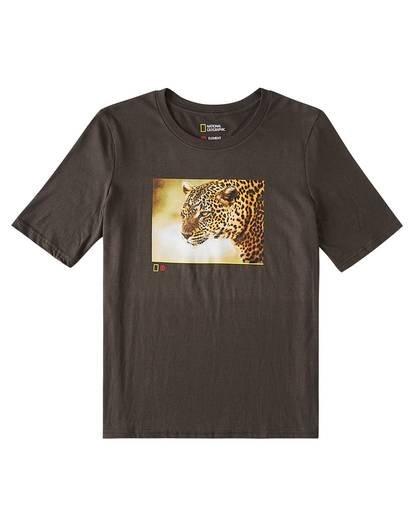 0 Leopard T-Shirt Black J421WELP Element