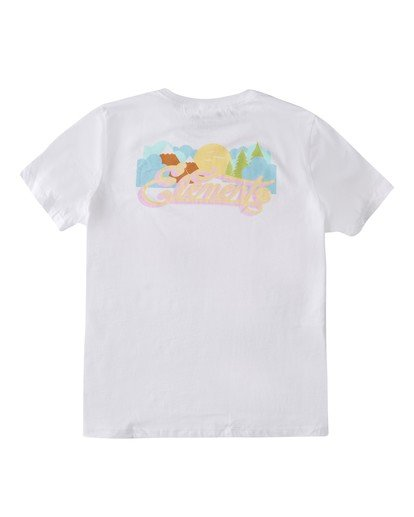 0 Morning T-Shirt White J4502EMR Element