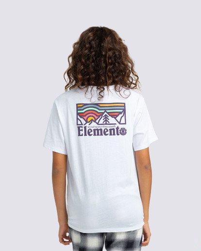 0 Landscape T-Shirt White J4523ELA Element