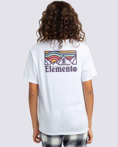1 Landscape T-Shirt White J4523ELA Element