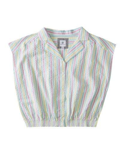 0 Stairway Button-Down Shirt Green J5572EST Element
