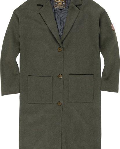 1 Bonnie Coat Jacket White J716WEBC Element