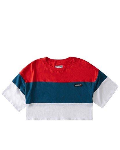 0 Tri Block Shirt Blue J9071ETR Element