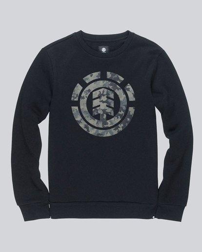 0 Bark Logo Crew - Fleece for Men  L1CRB1ELF8 Element