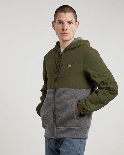 1 House Zh - Fashion Fleece for Men  L1FLA9ELF8 Element