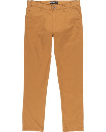 0 Howland Classic Chino Pants Brown M3373EHO Element