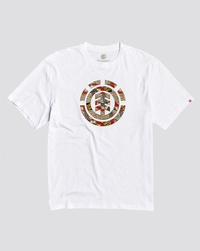 0 Origins Icon T-Shirt White M4012EOI Element