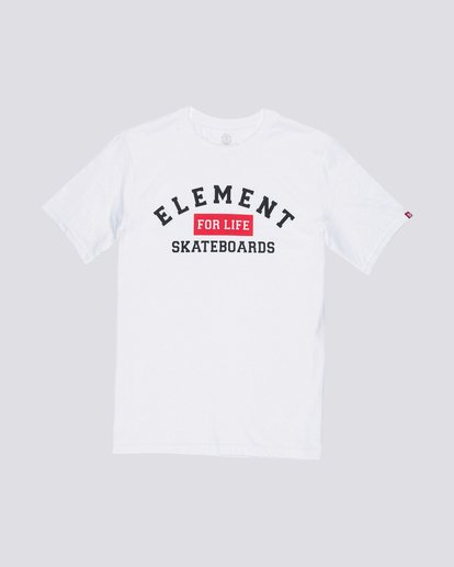 0 For Life Tee White M401QEFL Element