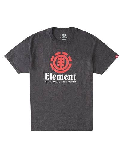 0 Vertical T-Shirt Grey M4501EVE Element