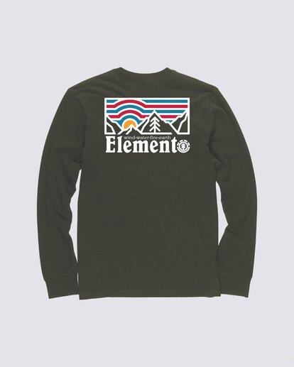 1 Wander Long Sleeve Shirt Green M4704EWA Element