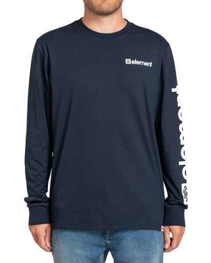 4 Joint II Long Sleeve T-Shirt Blue M4803EJ2 Element