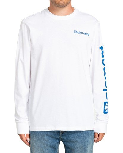 4 Joint II Long Sleeve T-Shirt White M4803EJ2 Element