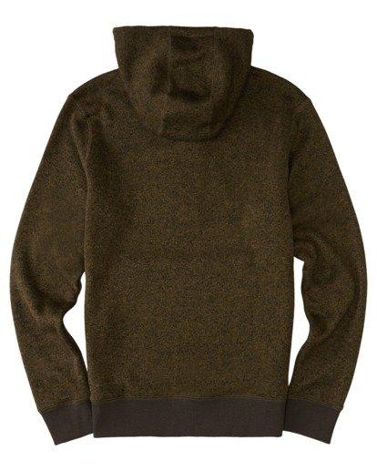 1 Highland Henley Shirt Green M641VEHI Element