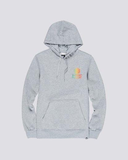 0 Drop Hoodie Grey M653VEDR Element