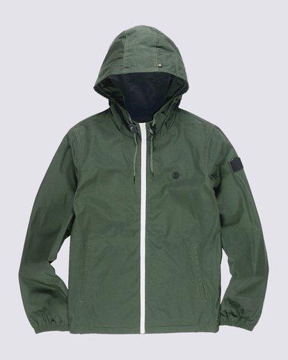 0 Alder Jacket Green M726QEAL Element