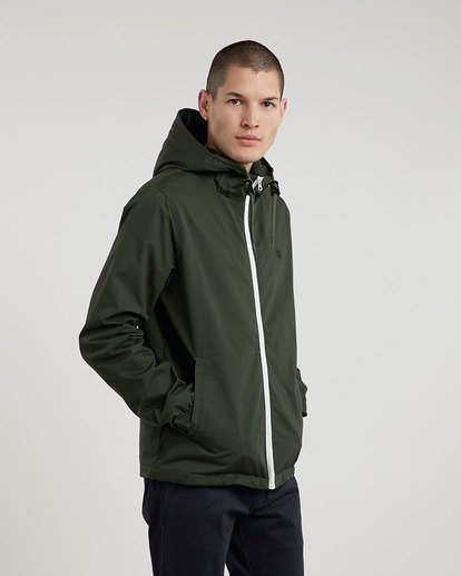 1 Alder Jacket Green M726QEAL Element