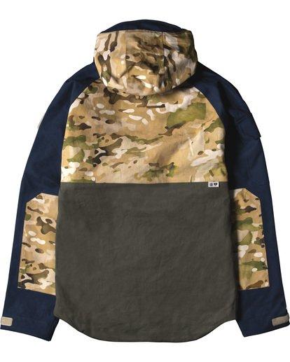 4 Vertically Basic Po Jacket Green M731VEGF Element