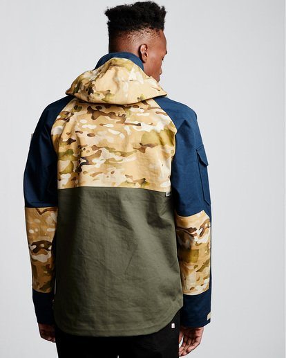 2 Vertically Basic Po Jacket Green M731VEGF Element