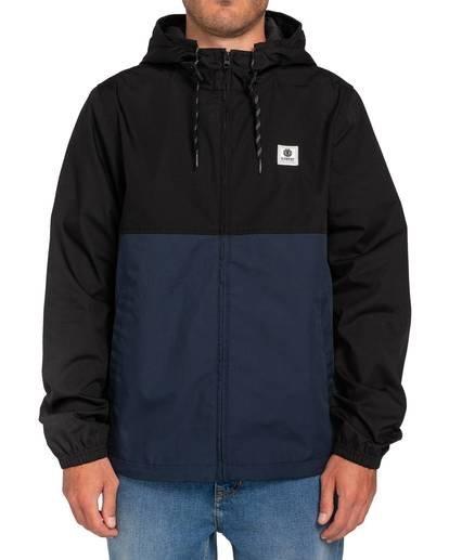 0 Alder Two Tones Jacket Blue M7563EAT Element