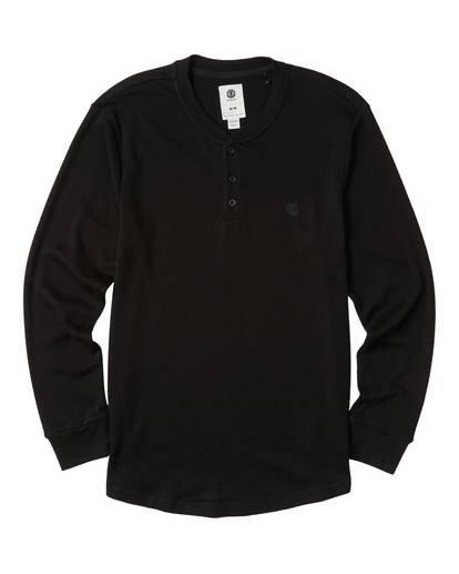 0 Barry Long Sleeve Shirt Blue M961VEBA Element