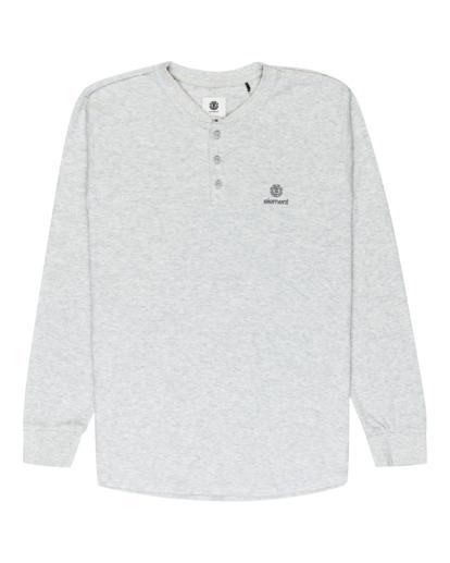 0 Barry Long Sleeve Shirt Grey M961VEBA Element