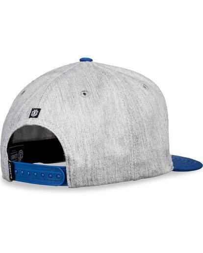 5 Knutsen Snapback Hat Grey MAHT3EKN Element