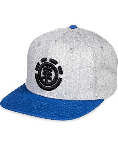 3 Knutsen Snapback Hat Grey MAHT3EKN Element