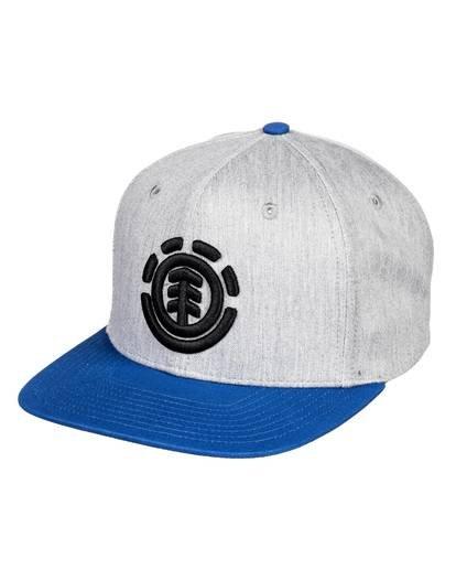 0 Knutsen Snapback Hat Grey MAHT3EKN Element