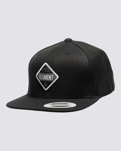 0 Trekker Flexfit Hat Black MAHTVETR Element
