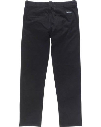 5 Sawyer - Trousers for Men Black N1PTA8ELP9 Element