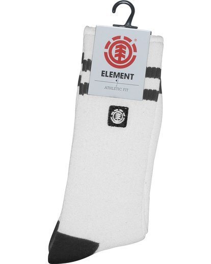 2 Clearsights - Chaussettes pour Homme Blanc N5SOA1ELP9 Element