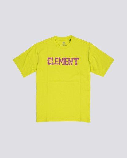 0 Tetsunori Tawaraya Lettering - Maglietta a maniche corte da Uomo  S1SSE2ELP0 Element