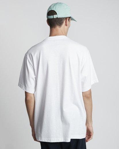 2 Tetsunori Tawaraka Pyramid Man - Maglietta a maniche corte da Uomo White S1SSE3ELP0 Element
