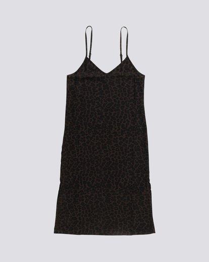 0 Roberta - Vestido con cuello en V para Mujer Negro S3DRA1ELP0 Element