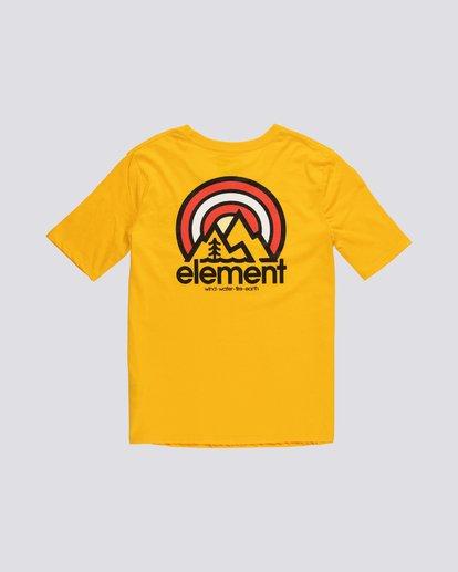 1 Branded - Camiseta de manga corta de algodón orgánico para Mujer Plateado S3SSA2ELP0 Element