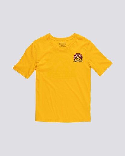 0 Branded - Camiseta de manga corta de algodón orgánico para Mujer Plateado S3SSA2ELP0 Element