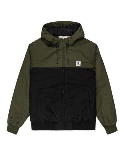0 Wolfeboro Dulcey Two Tones - Water-Resistant Jacket for Men Black U1JKC2ELF0 Element
