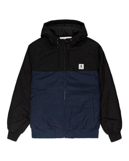 0 Wolfeboro Dulcey Two Tones - Water-Resistant Jacket for Men Blue U1JKC2ELF0 Element