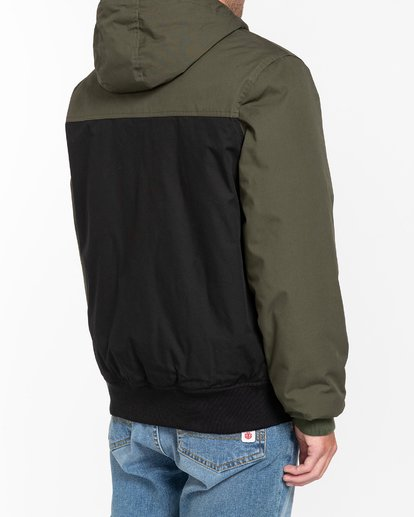 7 Wolfeboro Dulcey Two Tones - Water-Resistant Jacket for Men Black U1JKC2ELF0 Element