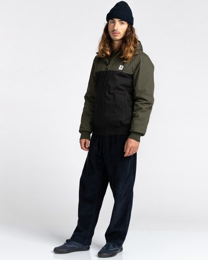5 Wolfeboro Dulcey Two Tones - Water-Resistant Jacket for Men Black U1JKC2ELF0 Element
