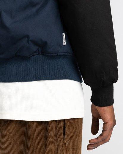 4 Wolfeboro Dulcey Two Tones - Water-Resistant Jacket for Men Blue U1JKC2ELF0 Element