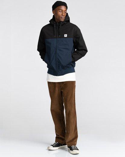 6 Wolfeboro Dulcey Two Tones - Water-Resistant Jacket for Men Blue U1JKC2ELF0 Element