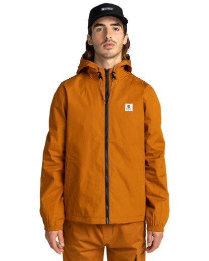 1 Wolfeboro Alder - Water-Resistant Jacket for Men Beige U1JKC3ELF0 Element