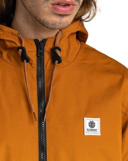 4 Wolfeboro Alder - Water-Resistant Jacket for Men Beige U1JKC3ELF0 Element